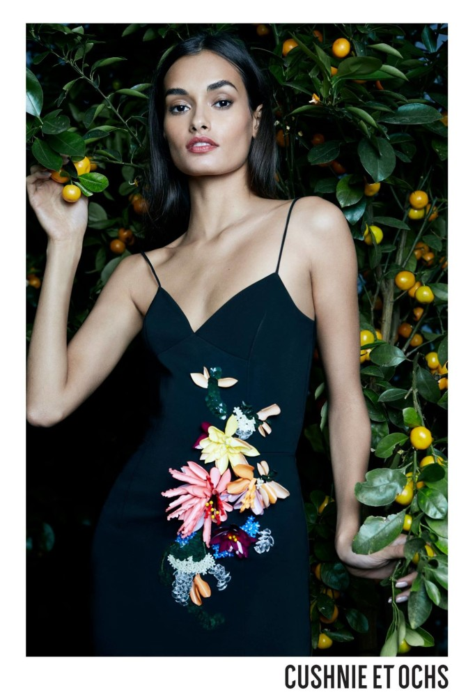 GIZELE OLIVEIRA FOR CUSHNIE ET OCHS SS18 CAMPAIGN