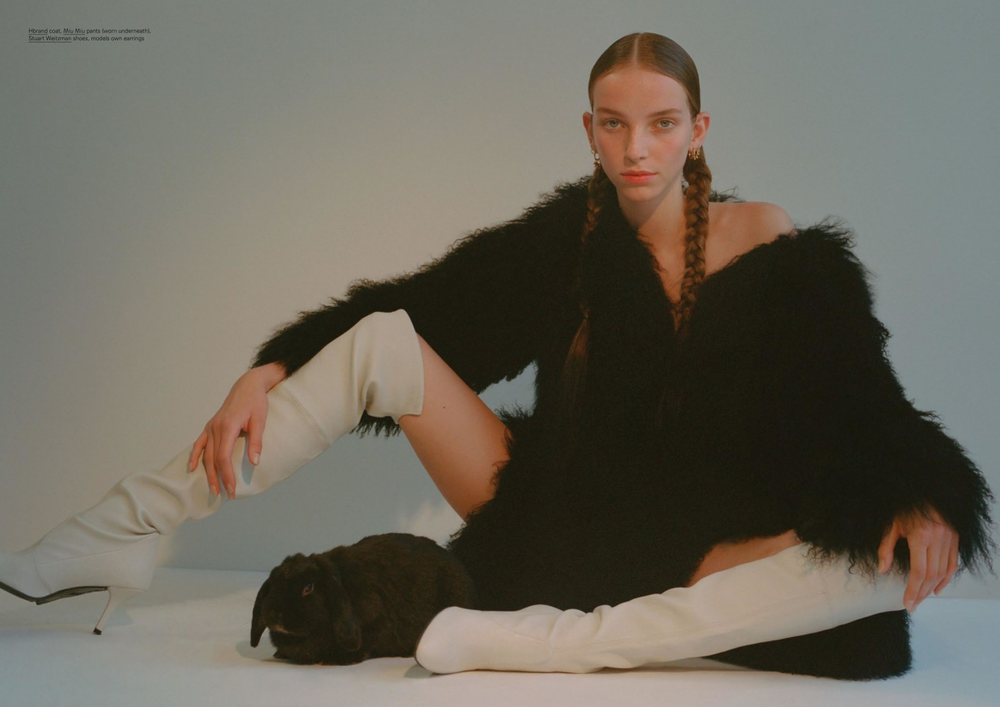 JAMILLA HOOGENBOOM FOR OYSTER MAGAZINE