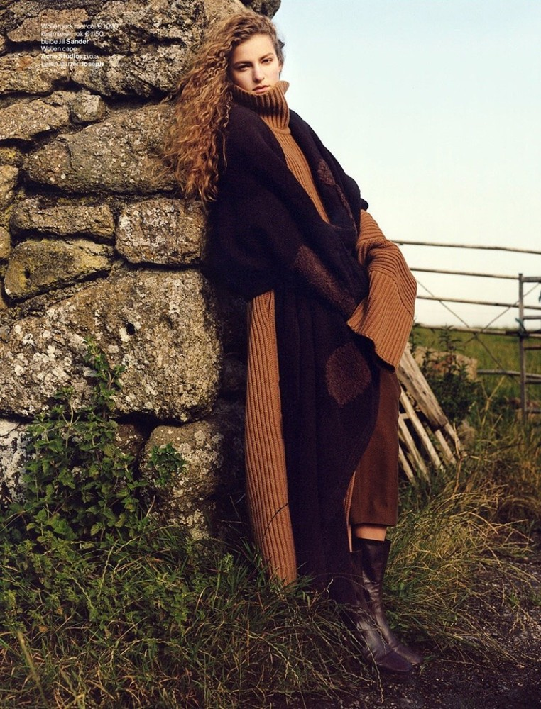FELICE NOORDHOFF FOR VOGUE NETHERLANDS OCTOBER 2017