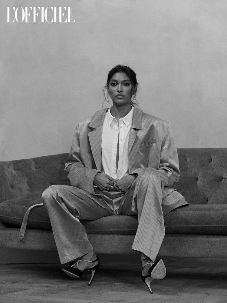 PRITIKA SWARUP FOR LOFFICIEL AZERBAIJAN JANUARY 2018