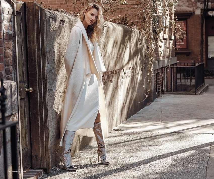 MICHAELA KOCIANOVA: for  VENICE MAGAZINE JANUARY 2018