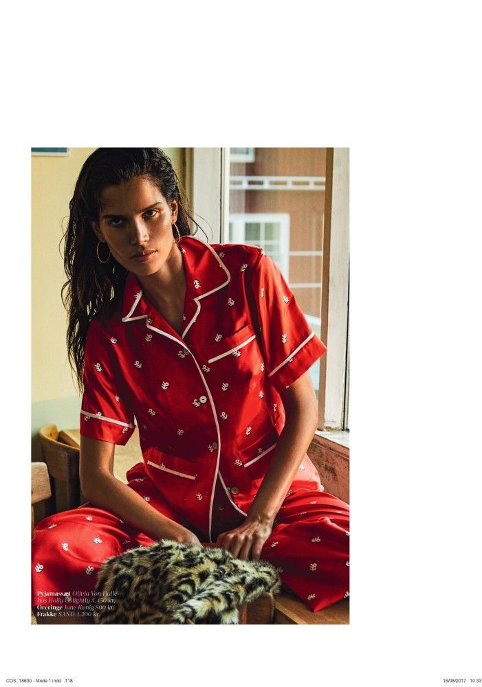 RAICA OLIVEIRA FOR COSTUME MAGAZINE OCTOBER 2017
