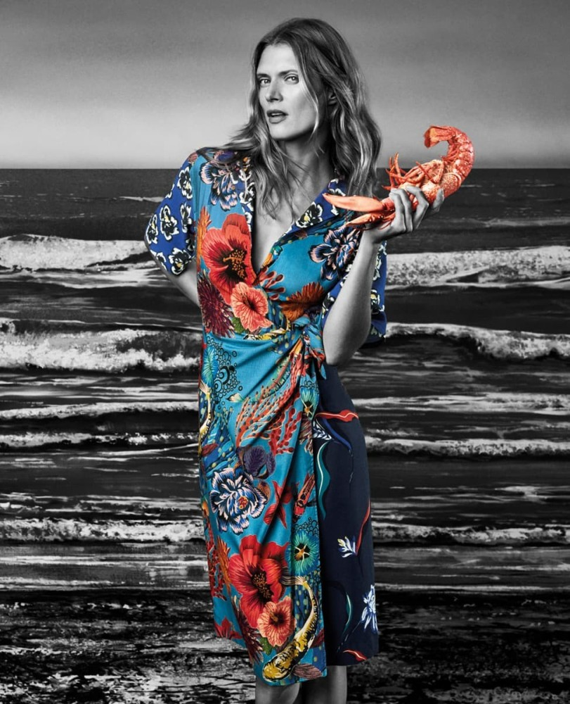 MALGOSIA BELA FOR PAUL SMITH SS18 CAMPAIGN