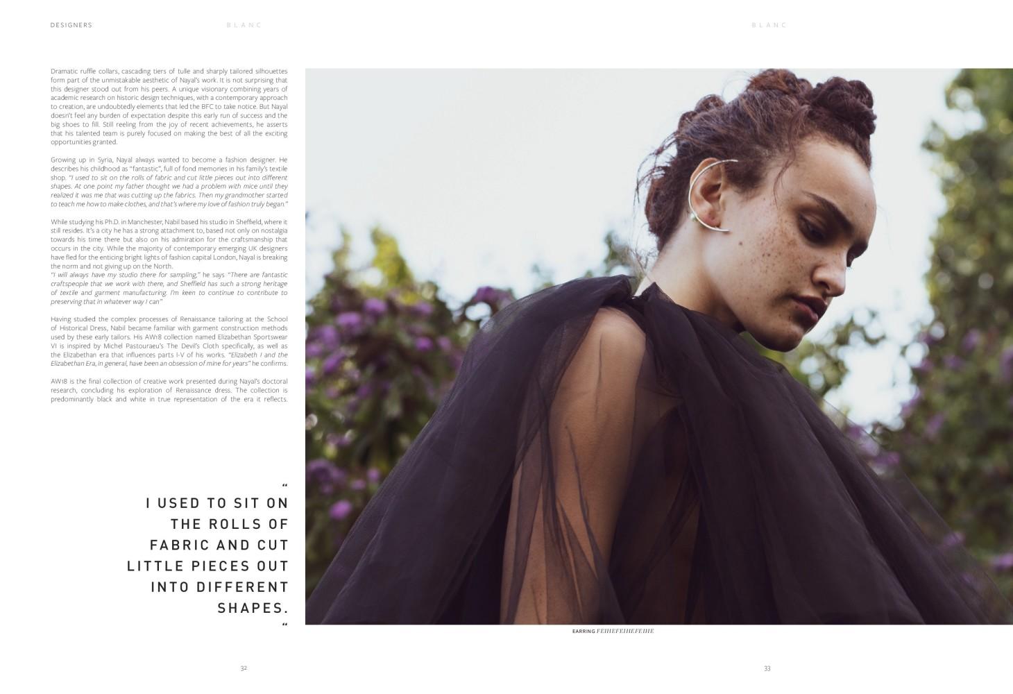 Simone for Blanc Magazine #7