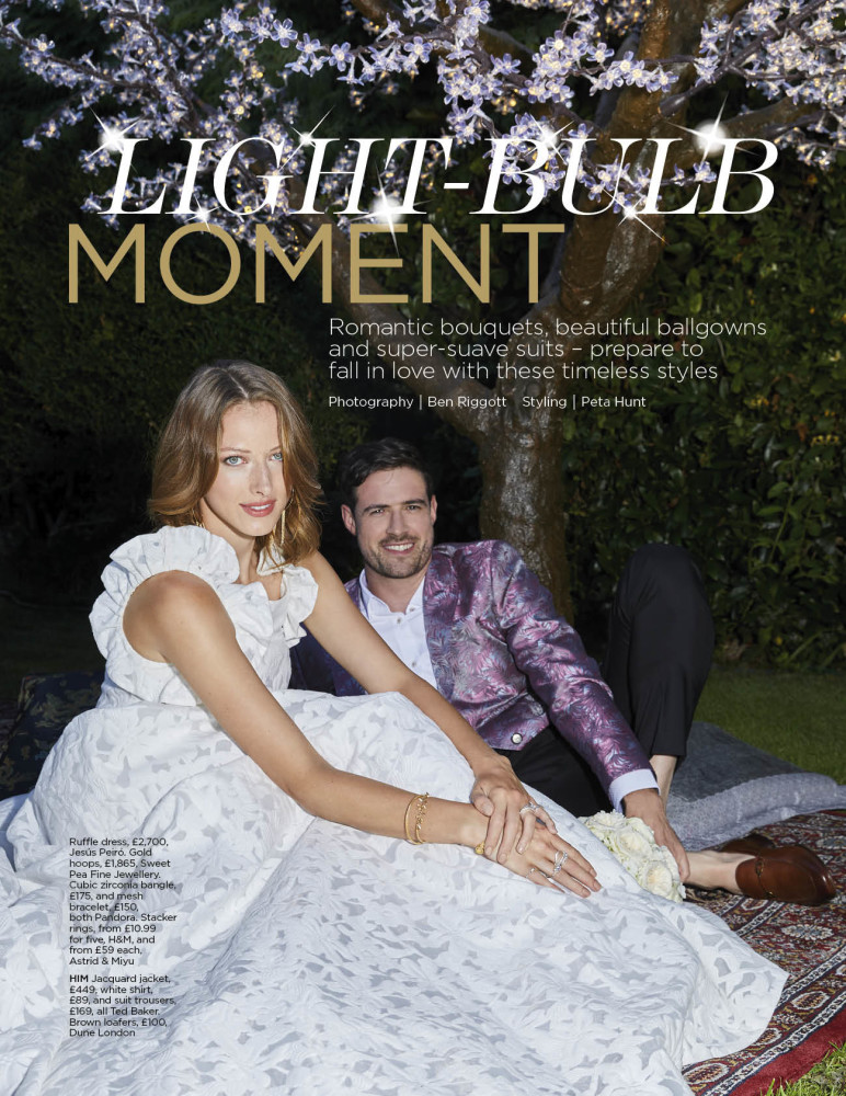 Saskia for You & Your Wedding Magazine