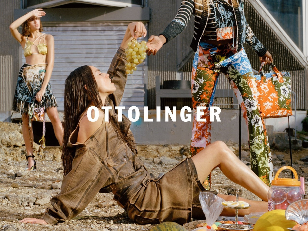 Germain and Zoe R for Ottolinger SS19 Campaign