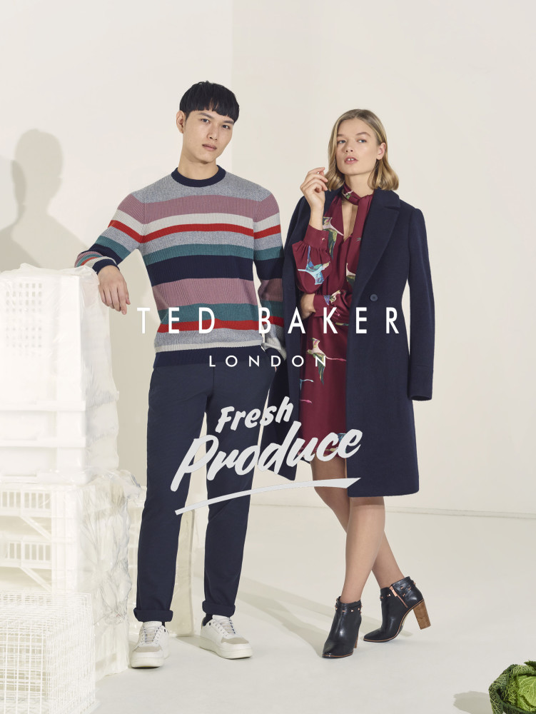 Pace for Ted Baker SS19 Campaign