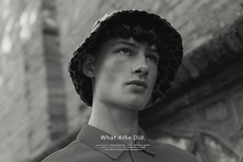 Alfie for Rain Magazine