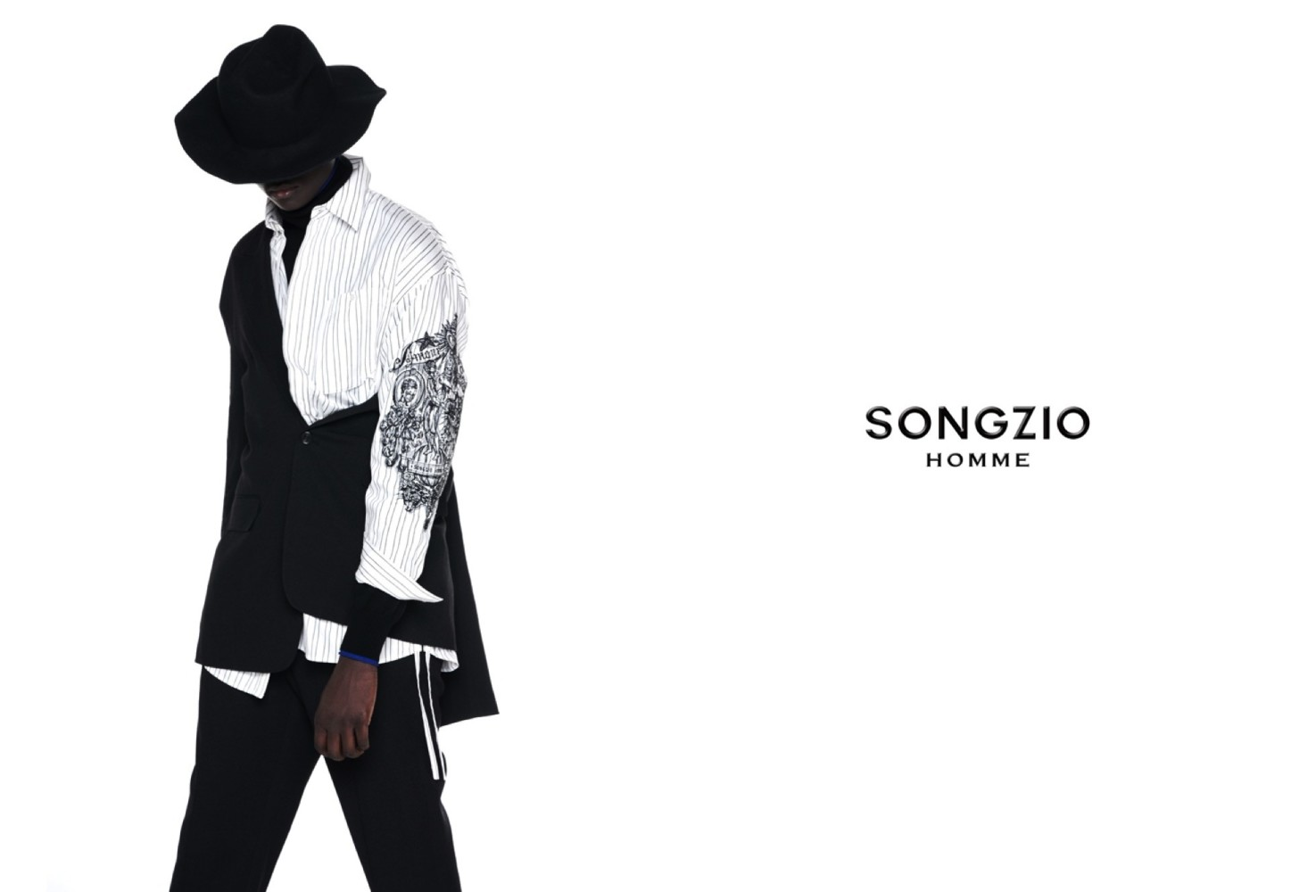 Djily for Songzio Homme campaign