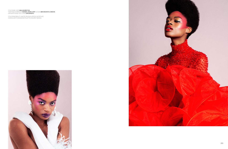 Estelle for Overdue Magazine Issue #2