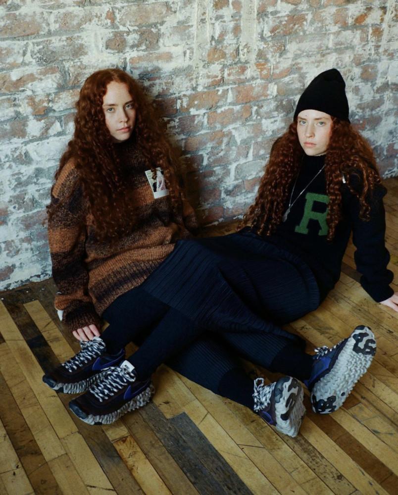 Kira and Taya for Sevenstore x NIKE Sportswear