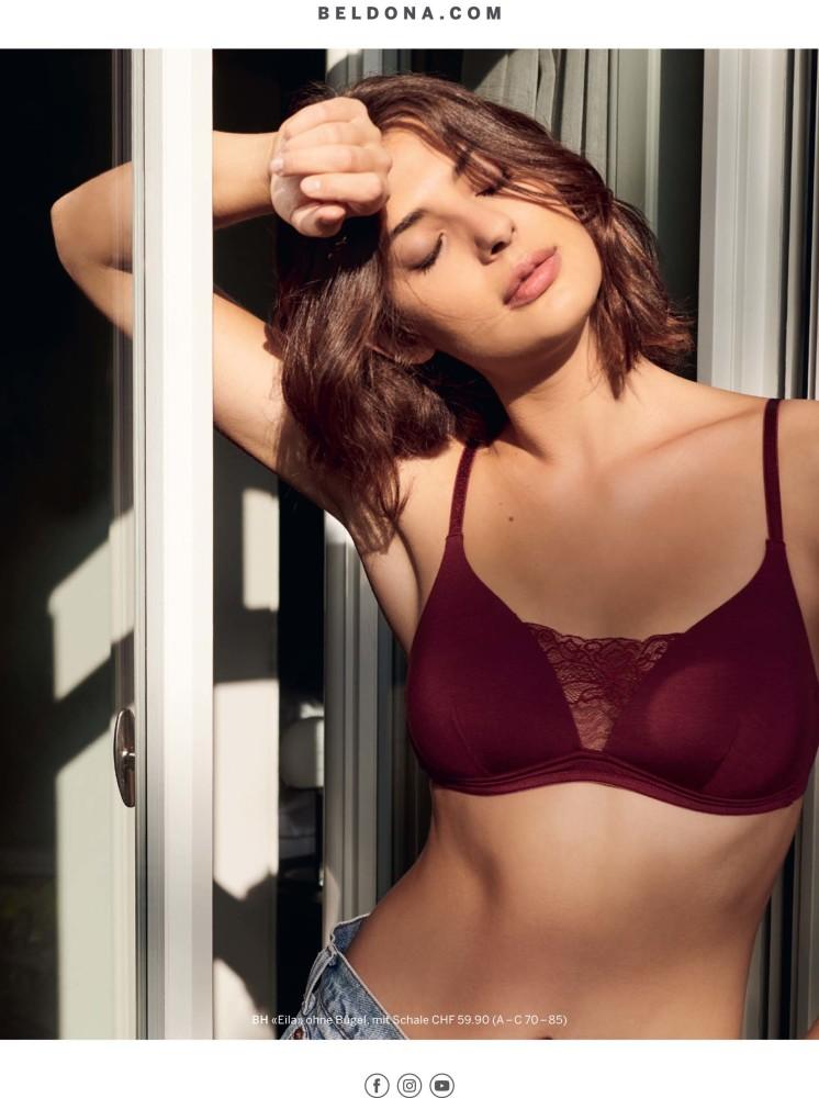 Beautiful Lejla H. for the new Beldona Campaign