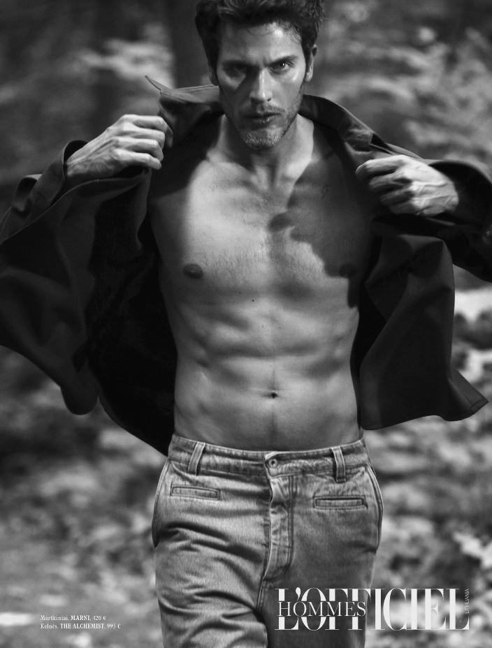 PASCAL B. for L'Officiel Homme Lithuania