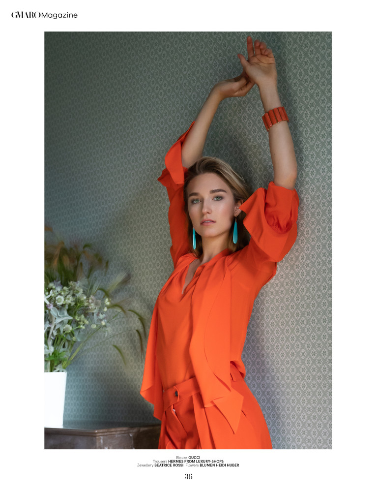 Manuela Frey for GMARO Magazine