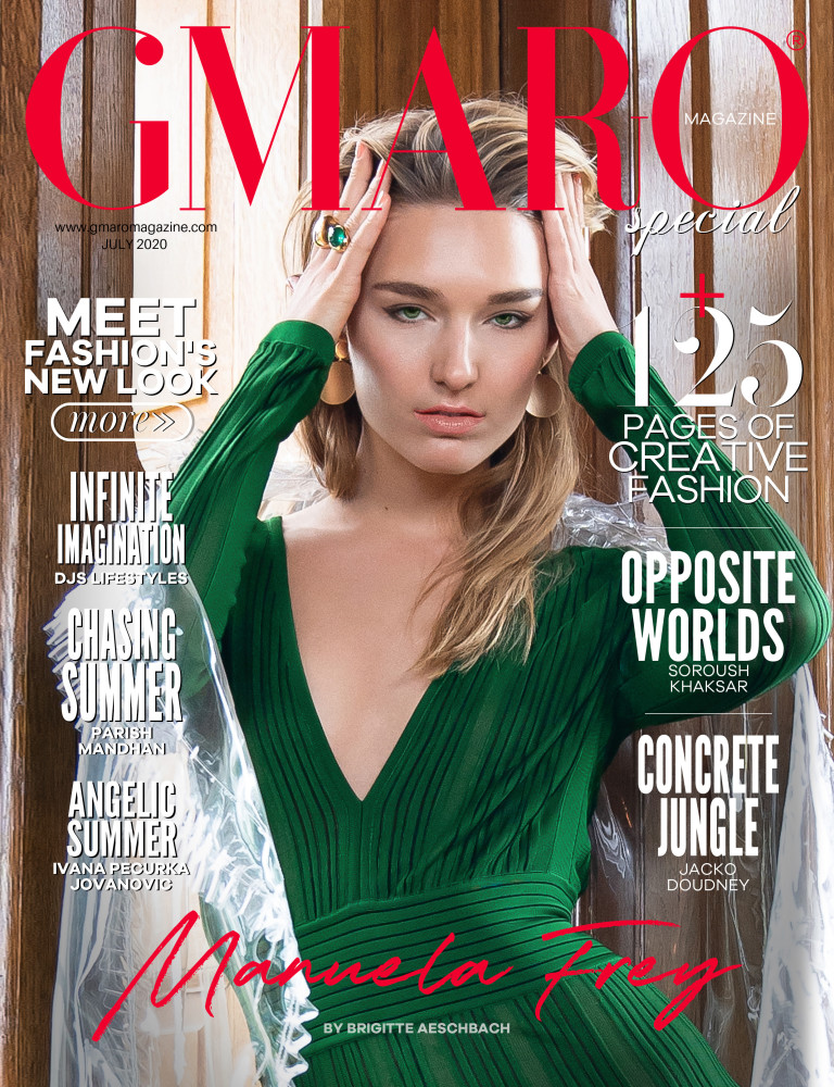 MANUELA F for GMARO Magazine