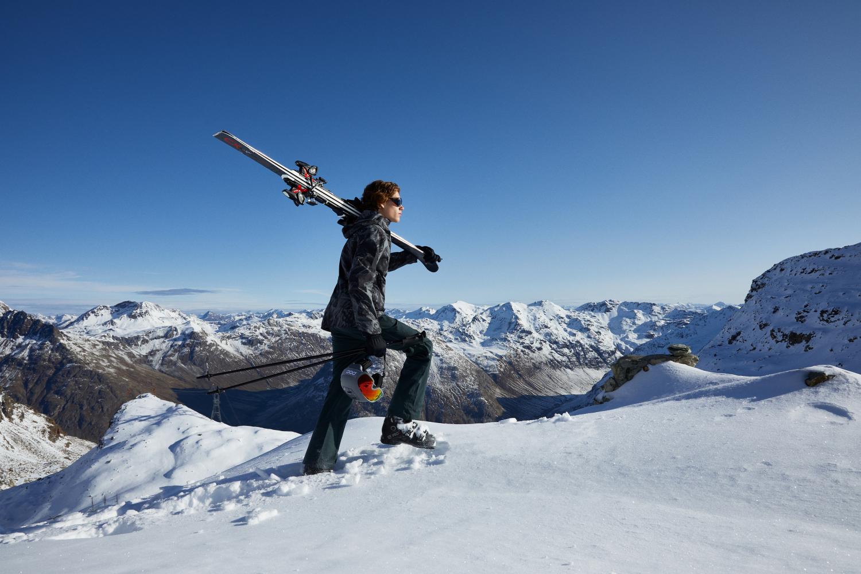 JON A for Ski Service Corvatsch Magazine