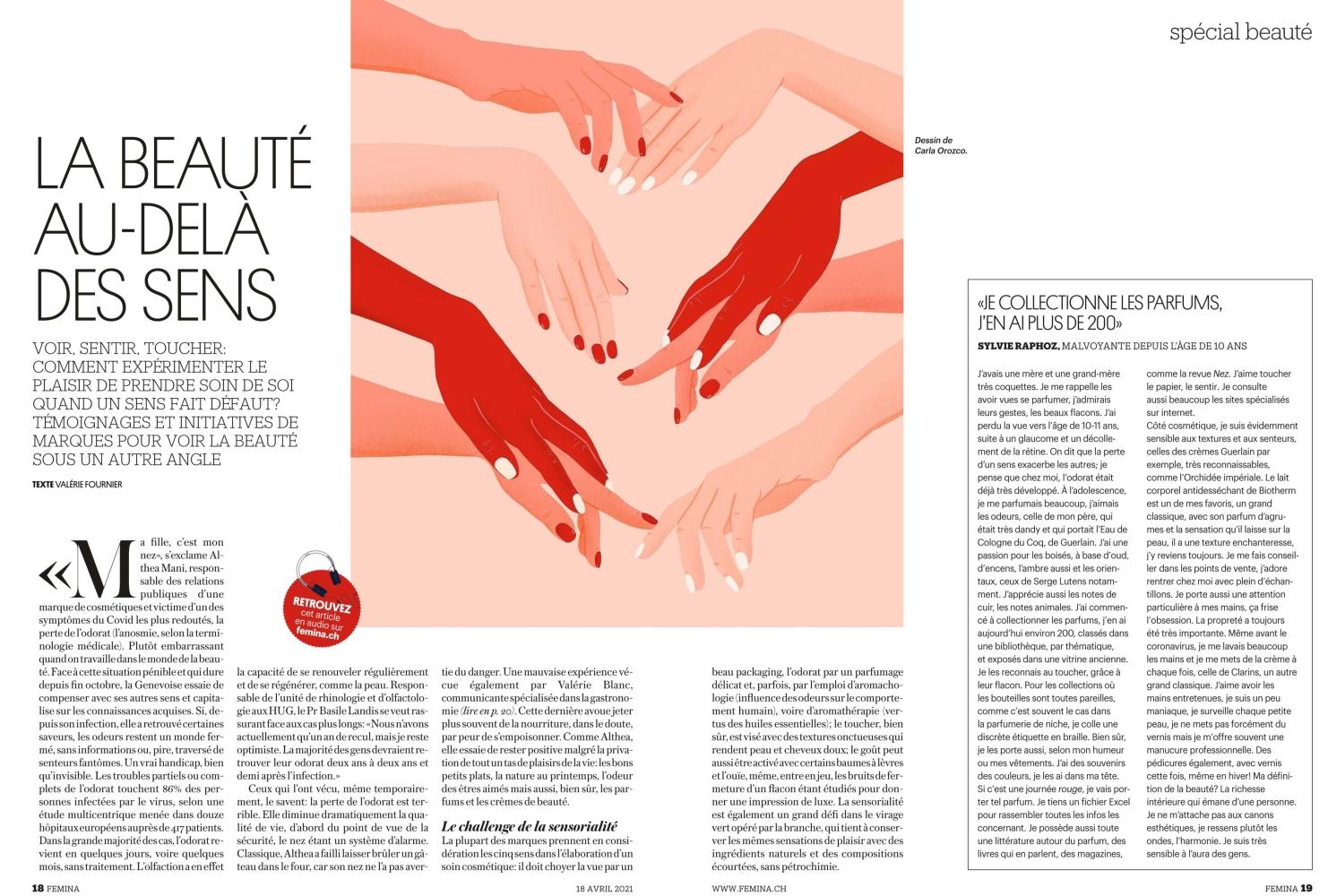CAROLINE F for Femina Magazine