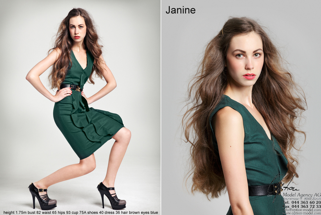 Time flies! 10th anniversary for our model JANINE H. We are very proud & happy!