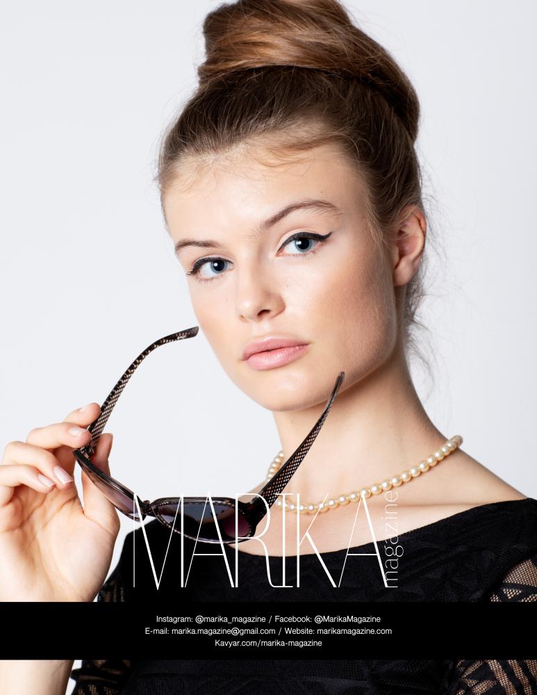 ANABEL B for Marika Magazine