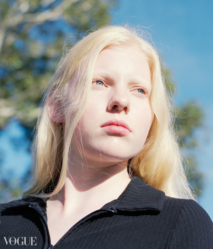 ALESSIA T on Vogue Italia PhotoVogue
