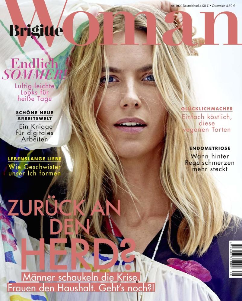 Beauty Ladina M. for Brigitte Woman