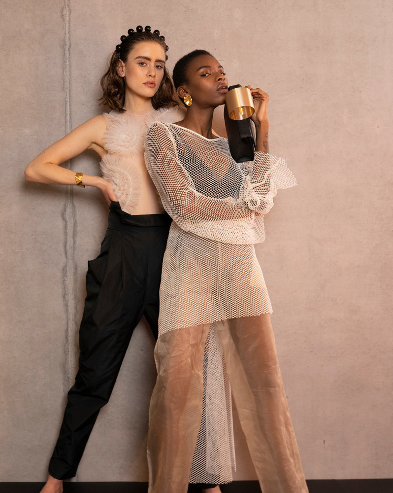 Anouk D. and Naomi L. for Faces Magazine