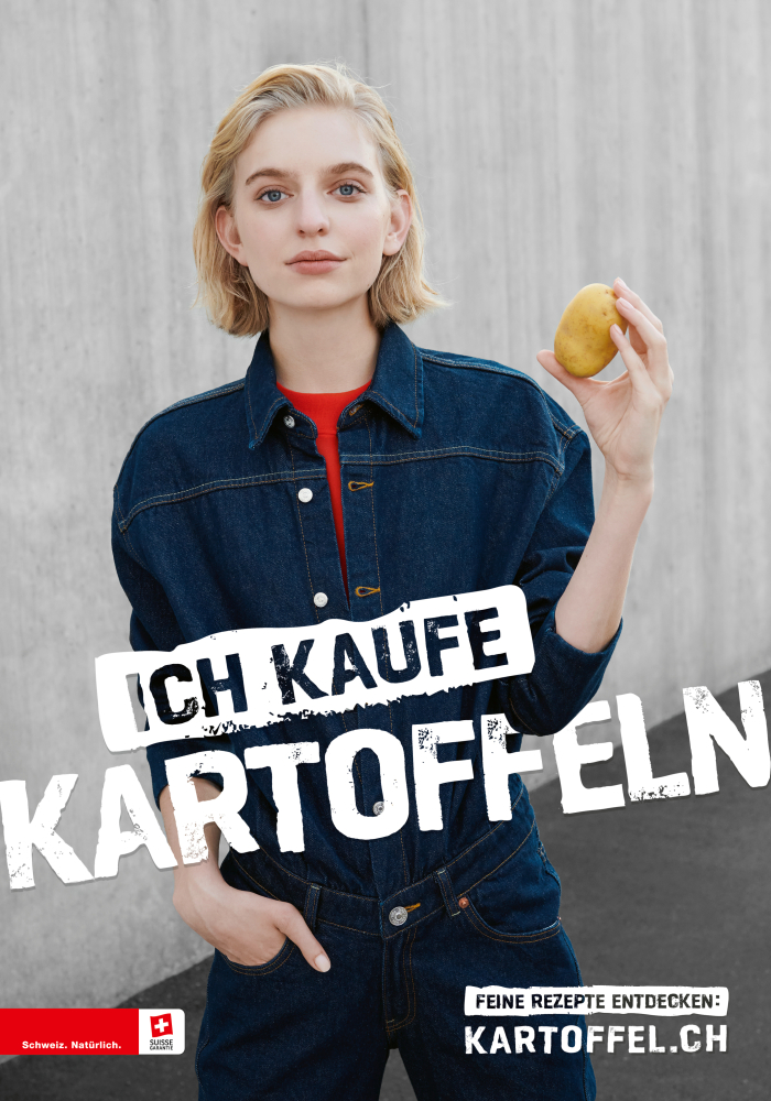 CAROLINE F for Swisspatat