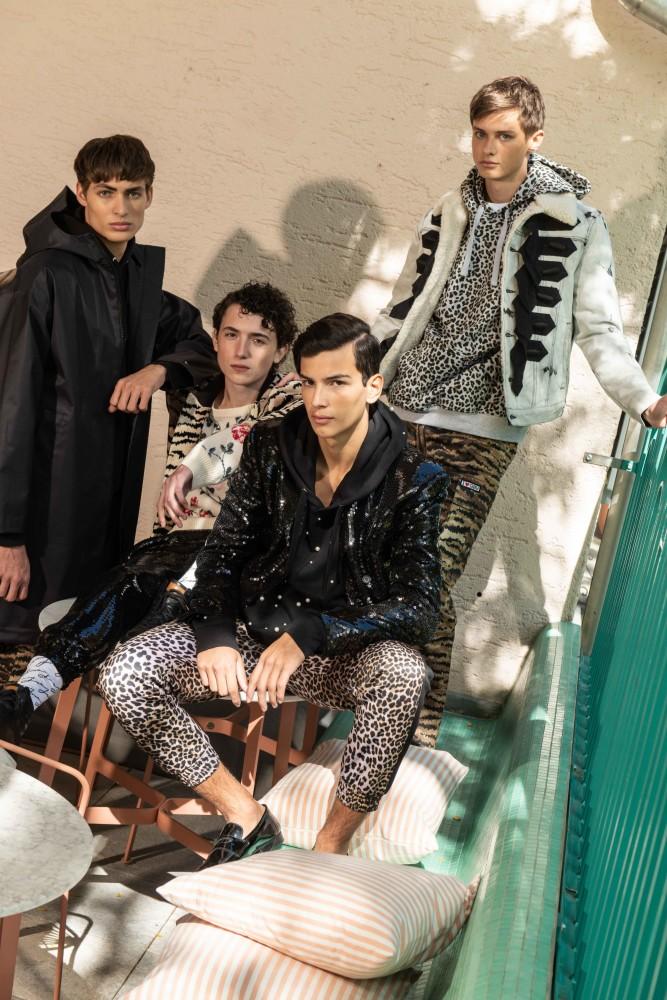 EML Boys for Display Mag with HM Giambattista Valli Paris