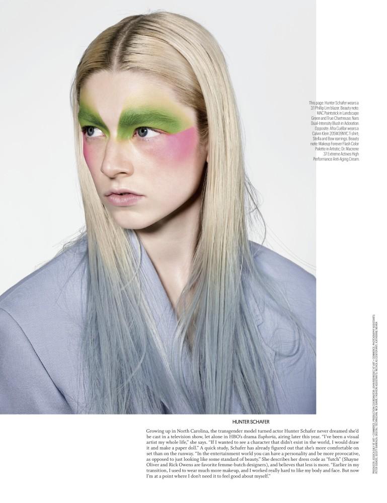 Hunter Schafer | Premier Model Management