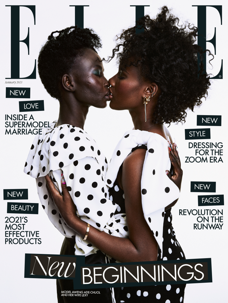 Elle UK: January 2021