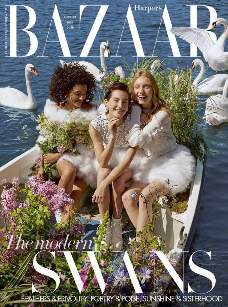 HARPER'S BAZAAR UK: AUGUST ISSUE