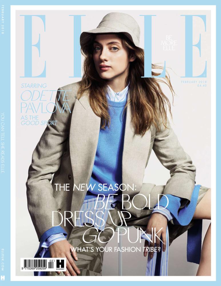 Elle UK : FEBRUARY ISSUE