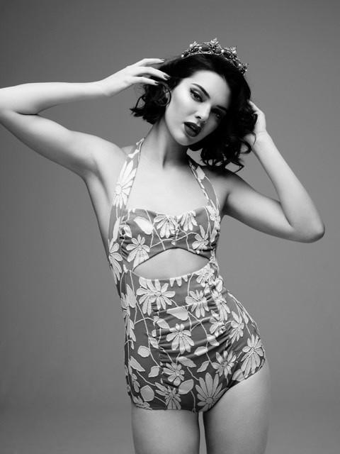 LOVE Magazine: Kendall Jenner as Marilyn Monroe