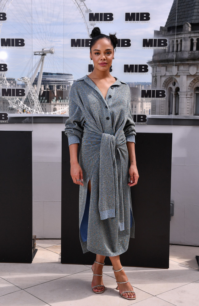 TESSA THOMPSON: MEN IN BLACK INTERNATIONAL PHOTOCALL
