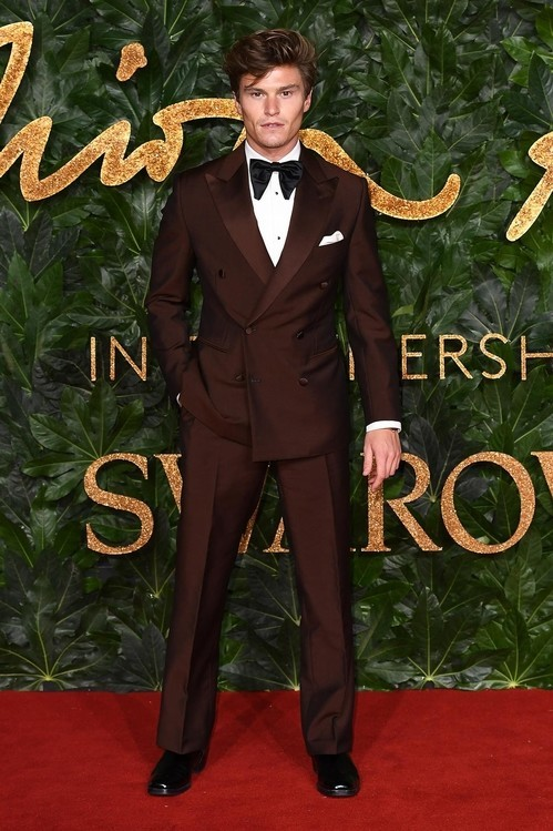 British Fashion Awards 2018- Vogue Paris Best Dressed- Oliver Cheshire