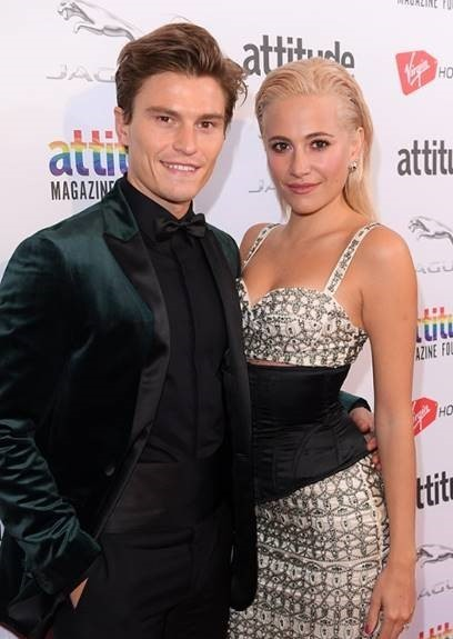Attitude Awards 2018- Pixie Lott & Oliver Cheshire