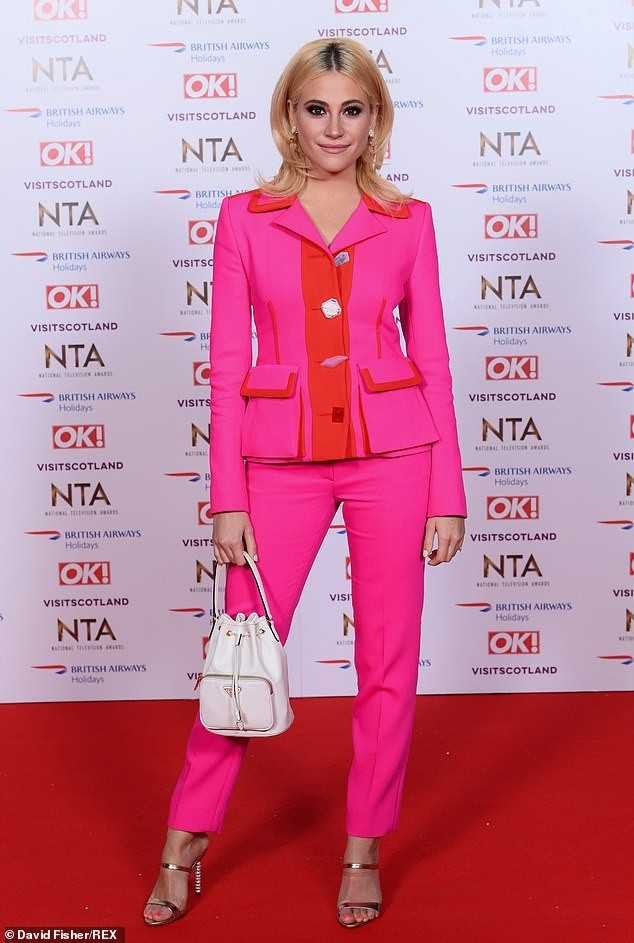 National Television Awards 2019- Pixie Lott