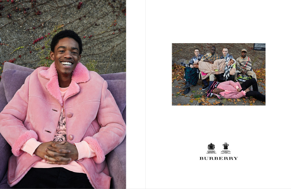 Burberry SS18 Campaign- Montell