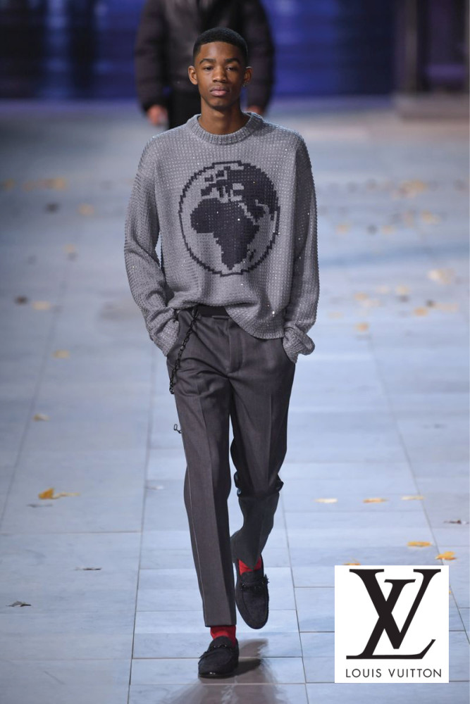 Paris Mens Fashion Week- Louis Vuitton Show AW19