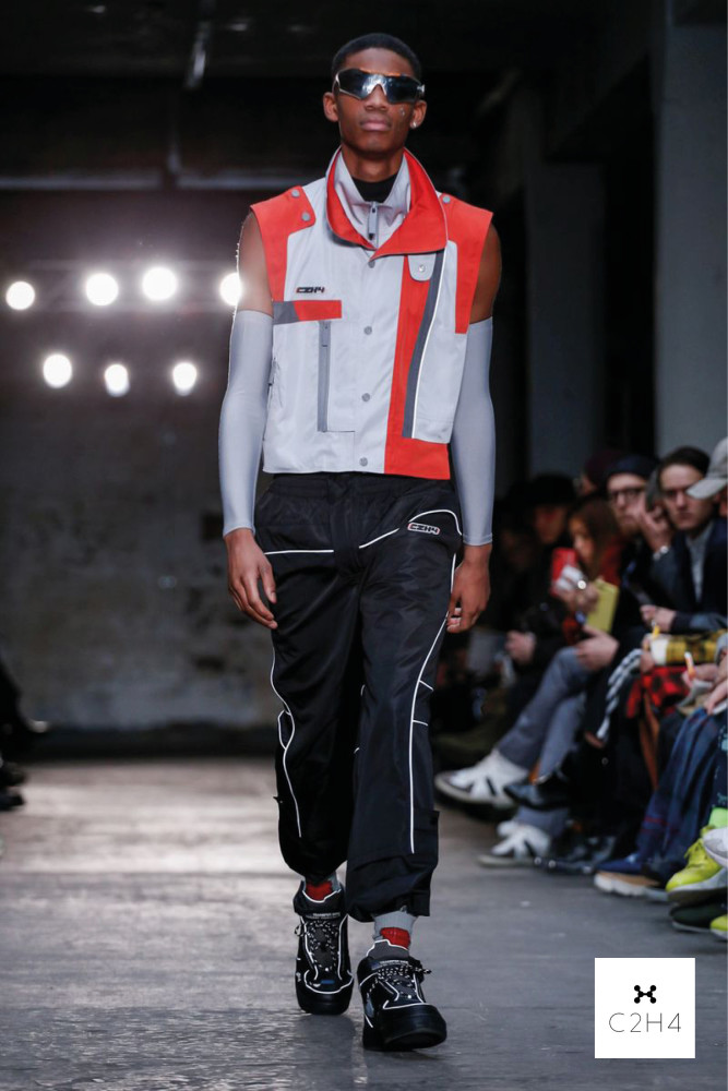 London Fashion Week Men- Nicholas Daley AW19