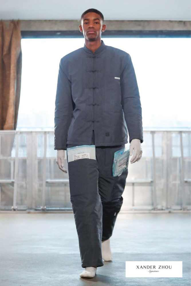 London Fashion Week Men- Xander Zhou AW19