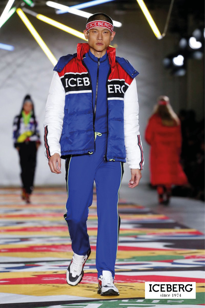 London Fashion Week Men- ICEBERG AW19