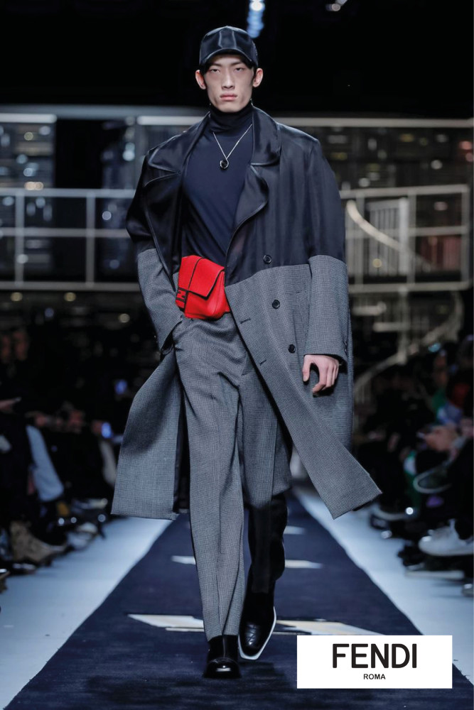 Milan Mens Fashion Week- Fendi Show AW19
