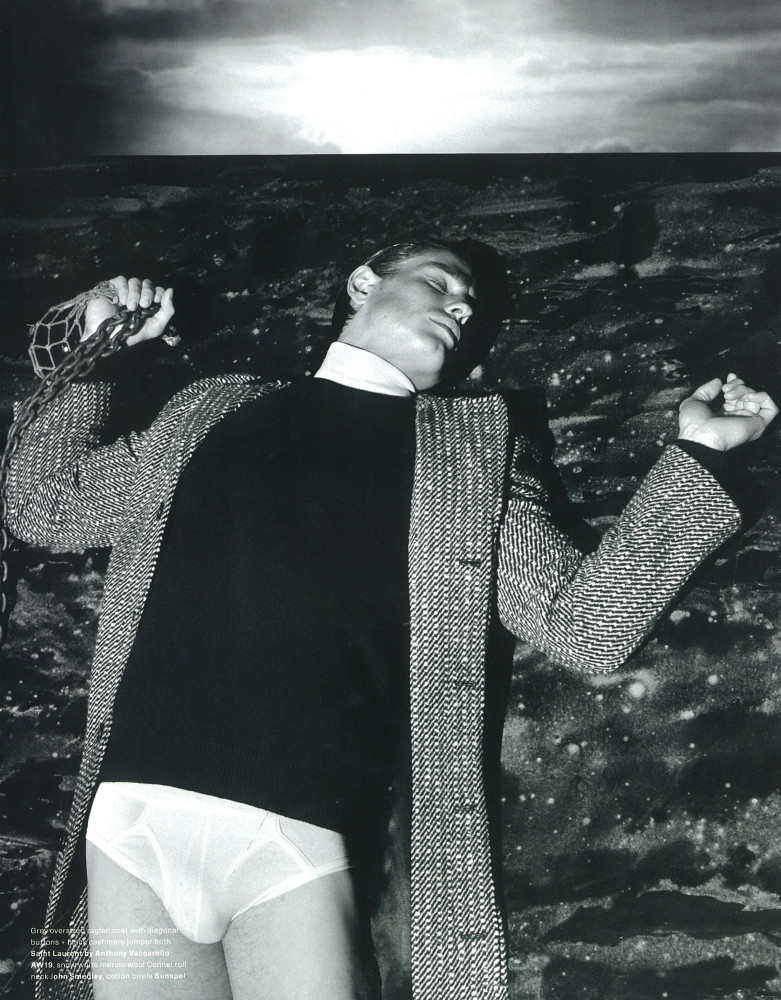 Arena Homme + Magazine- Patrick O'Donell