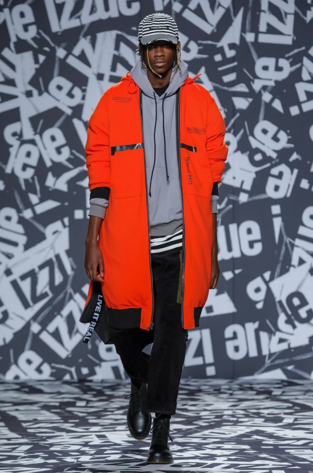 London Fashion Week AW19- Izzune- Amadou