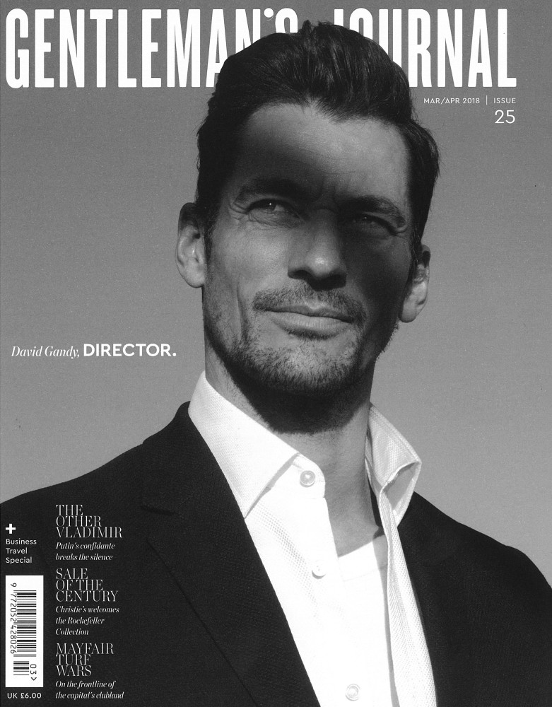 Gentleman's Journal March 2018- David Gandy