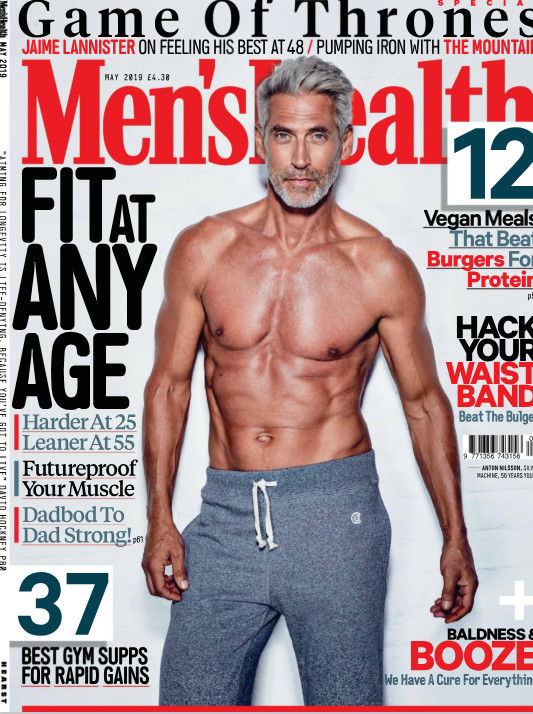 Mens Health April 2019 Cover- Anton Nilson