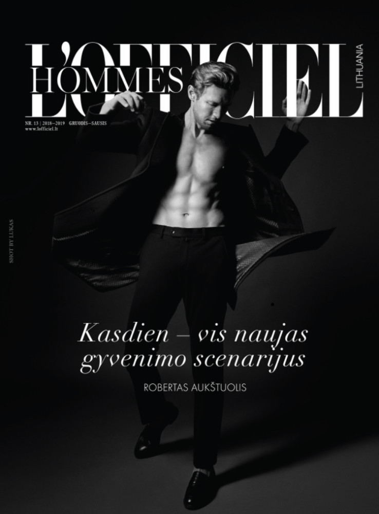 L'Officiel Hommes Lithuania- Robertas