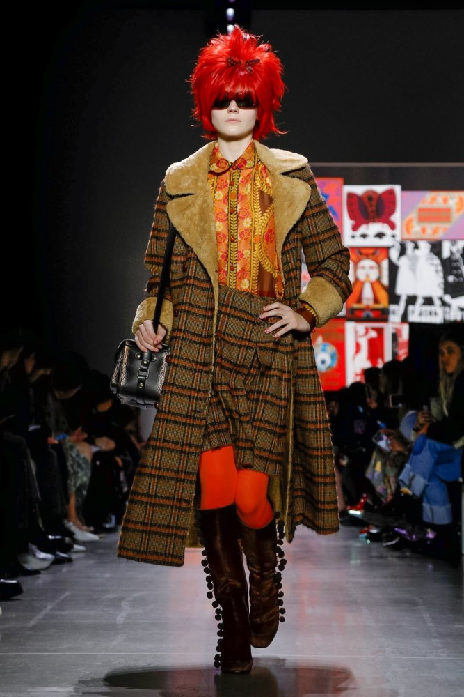 ANNA SUI Fall/ Winter 2019 - Lucan Gillespie