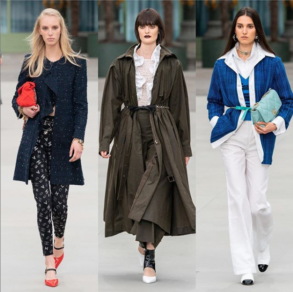 Chanel Cruise 2020 Show - Jessie Bloemendaal, Sam Rollinson and Rachelle Harris